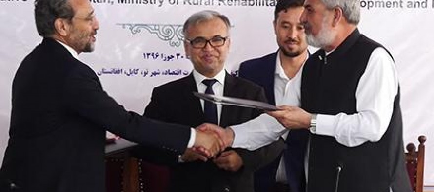 Afghan ministries sign 'Transparency' agreement with COST