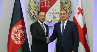 Afghan Finance Minister discusses economic ties with Georgia