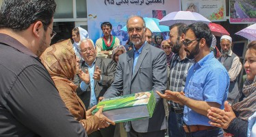 10 girls' schools in Kabul receive sport equipment