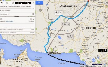 India's maiden shipment of wheat to Afghanistan flagged off via Chabahar