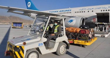 40 tons of fruits flown from Kandahar to India through Afghan-India air corridor
