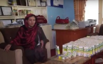 Afghan female entrepreneur hopes to promote domestic products