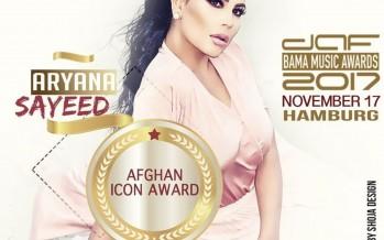 Aryana Sayed, Qais Ulfat win at DAF BAMA Music Awards 2017