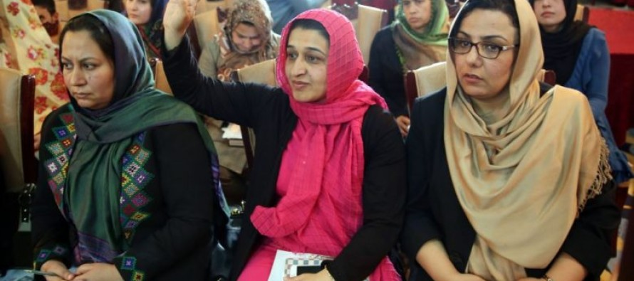 Afghan gov't reviews policies aimed at removing barriers to women in workplace