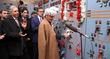 Maidan Wardak-Ghazni power project inaugurated