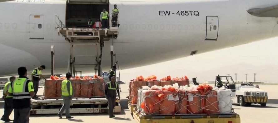 Afghanistan to export over 10 tons of goods to Almaty