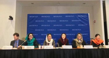 Afghan women leaders discuss country's progress in D.C.