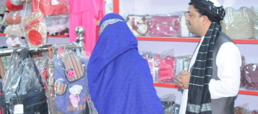 Afghan businesswoman builds a women trade center in Kandahar