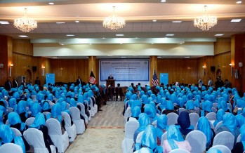 400 Afghan Women Trained to Join the Government Workforce