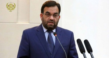 Ghani Bans Minister of Energy and Water from Traveling Abroad