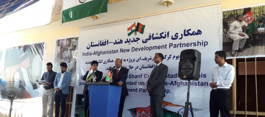 India Funds Projects Worth $4mn in Balkh
