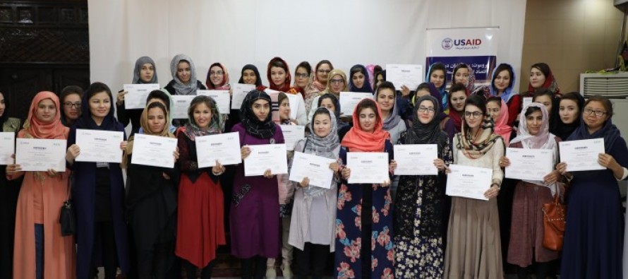 Afghan Women Advocate for Change through U.S.-Supported Promote Program