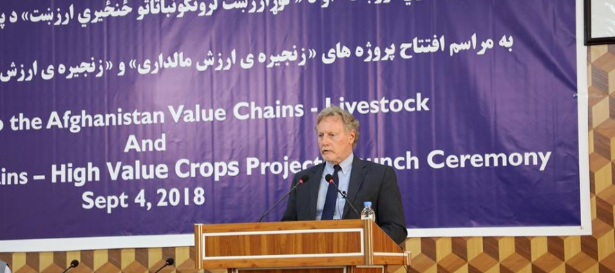Two New Agricultural Projects Launched in Afghanistan