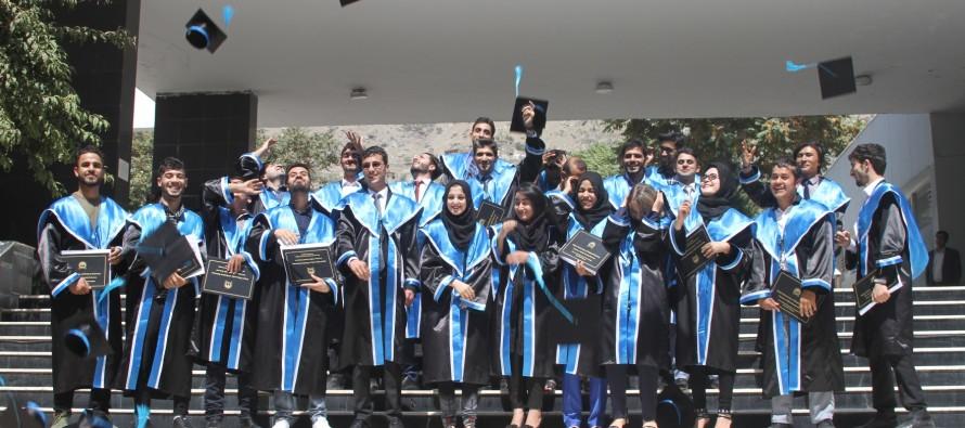 5 Women Among Graduates from Kabul University of Medical Sciences