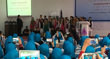 300 Afghan Women Graduate From Civil Service Internship Program