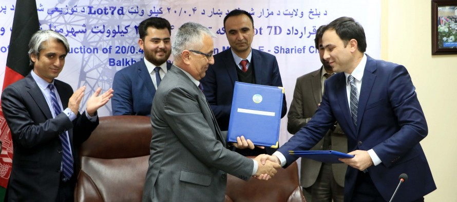 40,000 Residents in Balkh To Benefit From New Electricity Distribution