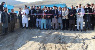 Rehabilitated Irrigation Canal in Badakhshan benefits 4,200 Citizens