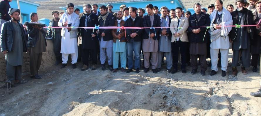 Rehabilitated Irrigation Canal in Badakhshan benefits 4,200 Citizens