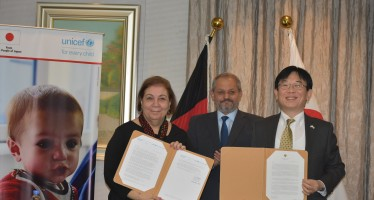Japan Donates $9.1 million to support children and mother's health in Afghanistan