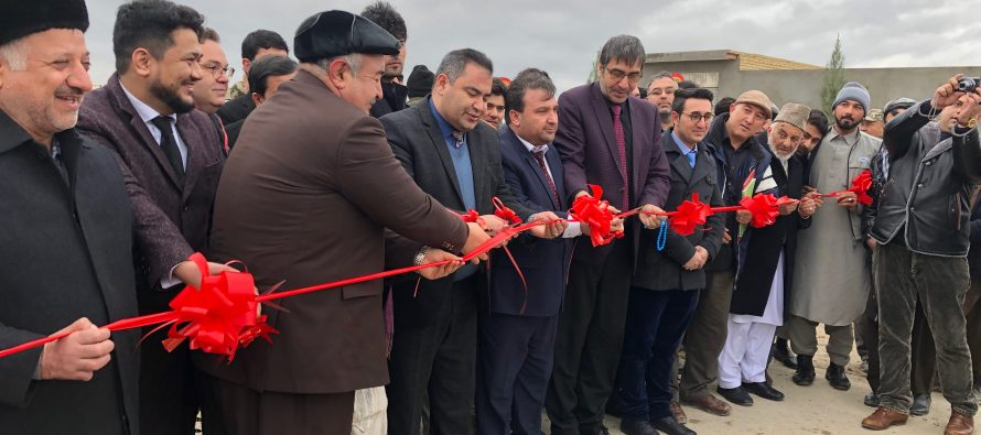 Newly Reconstructed Road in Balkh Benefits 134,000 People