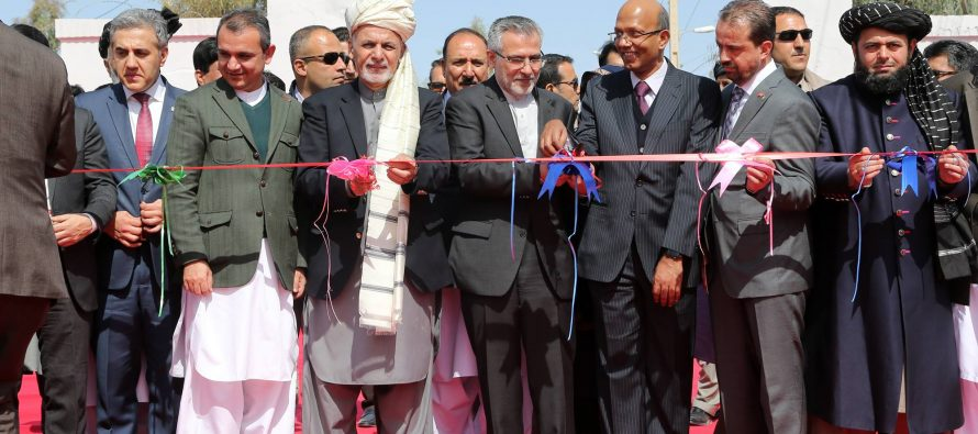 Afghanistan Sends Its First Shipment to India via Chabahar