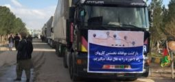Afghanistan's First Convoy of Goods Arrive in Herat Via Lapis Lazuli