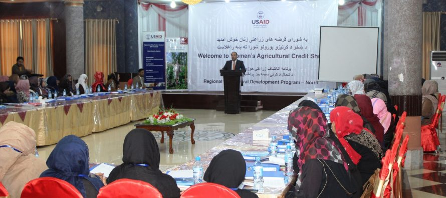 Improving Livelihoods of Afghan Women Through Credit Shura