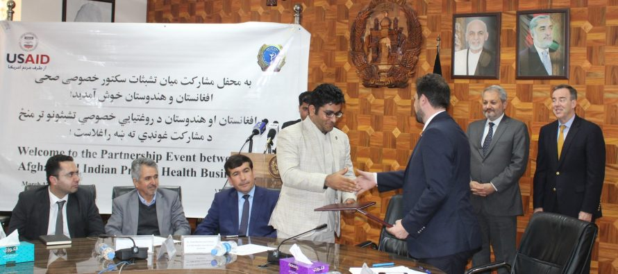 $6.5mn Worth of Contracts Signed to  Expand Quality Healthcare in Afghanistan