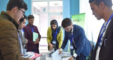 Participation of Young Afghans In Agriculture Competition