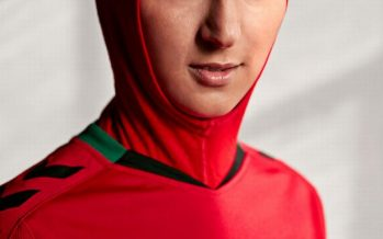 First Inbuilt Hijab Kit for Afghanistan National Women's Football team