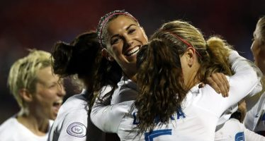 Women's Football USA vs France Sets Rating Record