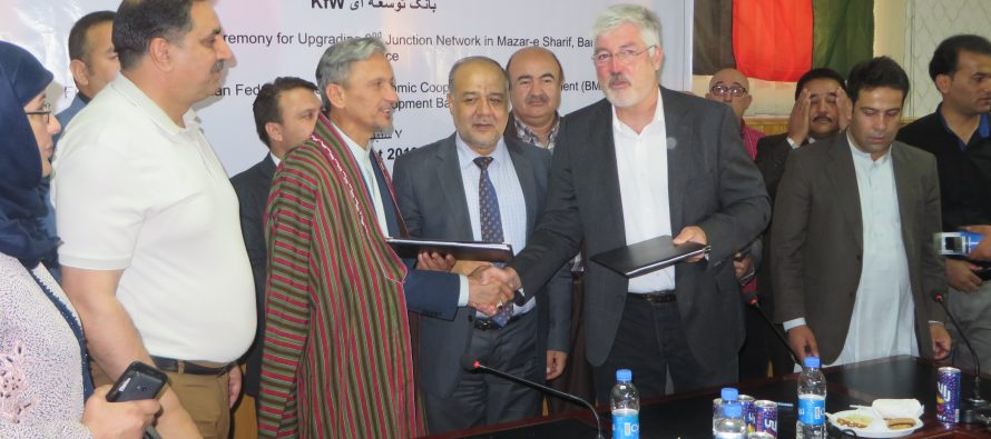 New Power Supply Network for Mazar-e Sharif Benefits 20,000 Residents