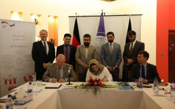 Tackling Corruption in Mining: Gov't Signs Agreement with Afghan-German Cooperation