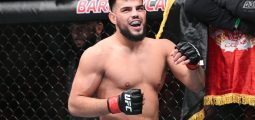 Afghan MMA Fighter Nasrat Haqparast Wins His 11th UFC Win