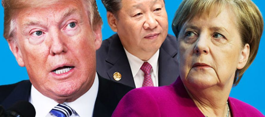 Trade War Between China & US Hits Germany