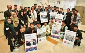Young Afghan Students Create Innovative Solutions to Tackle Agriculture Problems