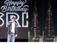 Burj Khalifa Lights Up With Birthday Message for Shahrukh Khan