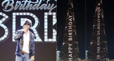 Burj Khalifa Lights Up With Birthday Message for Shahrukh Khan