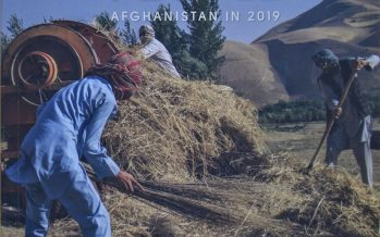 2019 Survey of the Afghan People Reveals Citizens Support Peace Talks with Taliban