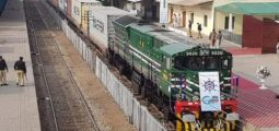 First-ever Afghan Freight Train Leaves Karachi for Kandahar