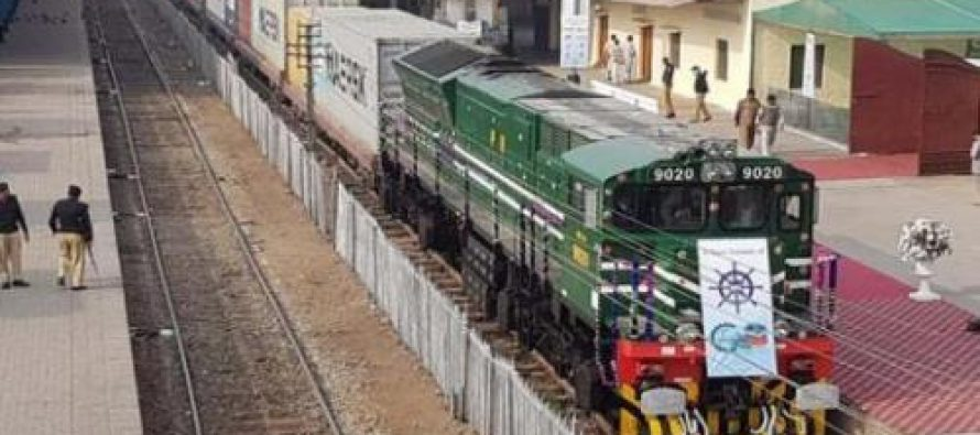First-ever Afghan Freight Train Leaves Karachi for Kandahar