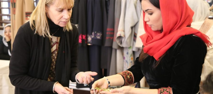 Afghan Millennial Woman Opens Jewelry Business in the U.S.