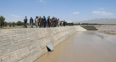New Flood Protection Wall & Irrigation Channel Benefits Almost 20,000 Takhar Citizens