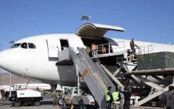 15% Increase in Afghanistan's Exports Through Air Corridors