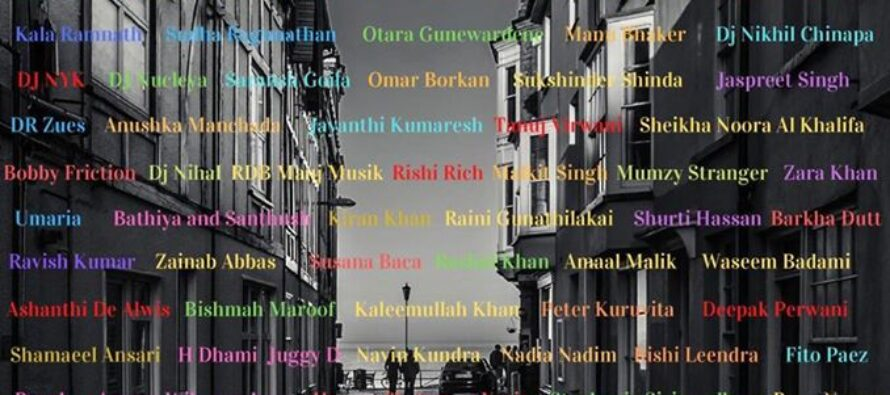Afghan Artists Aryana Sayeed & Farhad Darya Named Among Top 100 Most Influential People in Asia