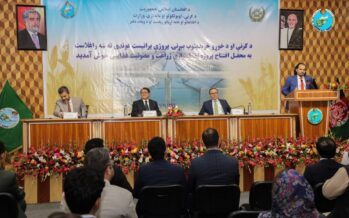 Construction of a 1.5-kilometre Flood Protection Wall Along Balkh River Kicks Off