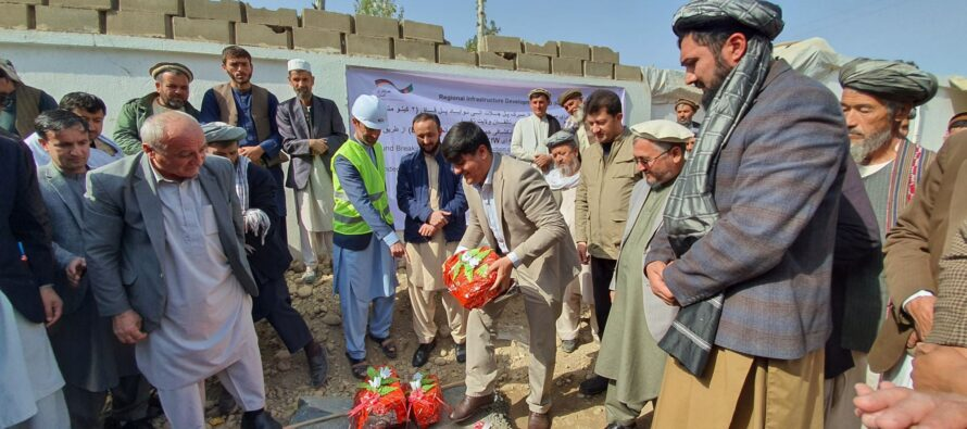 A Road Project in Takhar Benefits 36,000 People