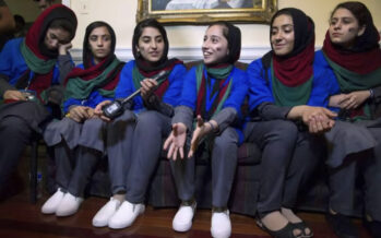 Afghan Private Sector To Invest in Products Made by Afghan Girls Robotics Team