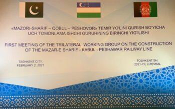 Afghanistan, Pakistan, Uzbekistan Approve Roadmap for Key Railway Line