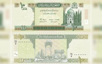 Afghanistan Receives Its First Batch of New Banknotes from Poland
